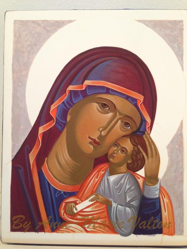 Maria Eleousa sidste lysning